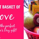 DIY Fruit Basket of LOVE for Valentine's Day