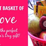 DIY Fruit Basket of LOVE for Valentine's Day