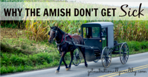 Why the Amish don't get sick and what you can learn from them