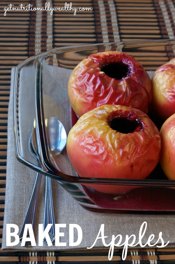 Baked Apples   nutritionallywealthy.com