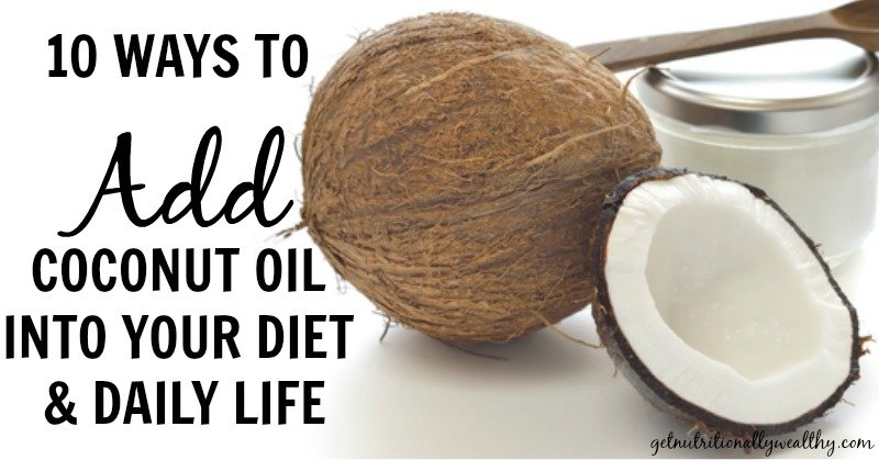how to add coconut oil to nutribullet