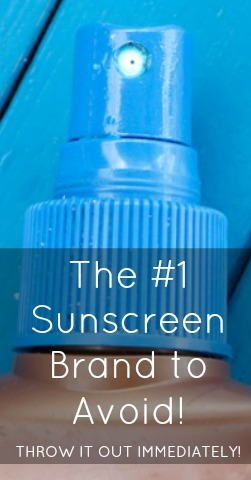 The #1 Sunscreen Brand to Avoid! Throw it out immediately! | Nutritionally Wealthy