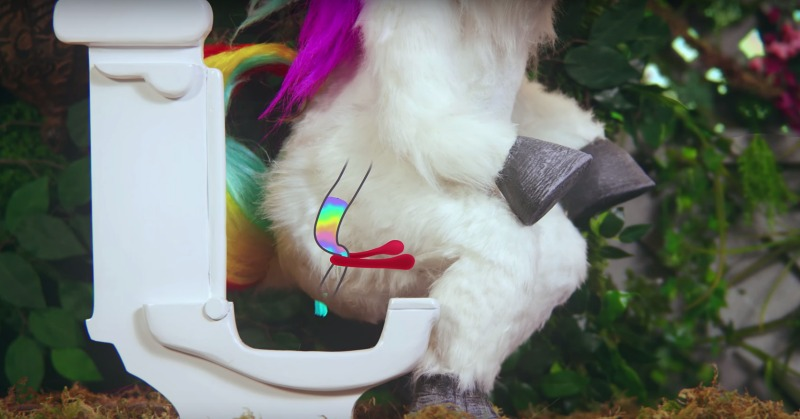 Can This Unicorn Change The Way You Poop Nw