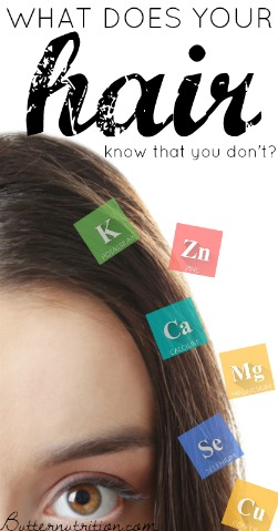 What does your hair know that you don't? | Nutritionally Wealthy